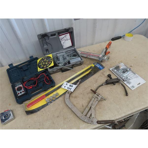 Specialty Tools, Vac Pump, Circuit Tester, Serpentine Belt Tool, Belt Tool, Flaring Tool Plus More!