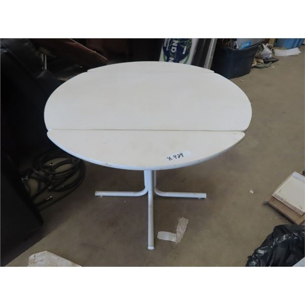 "Dropleaf K Table 36"" RD"