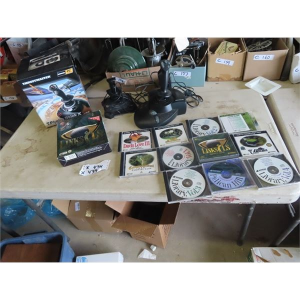 Golf DVD Library, Home Video Game Control