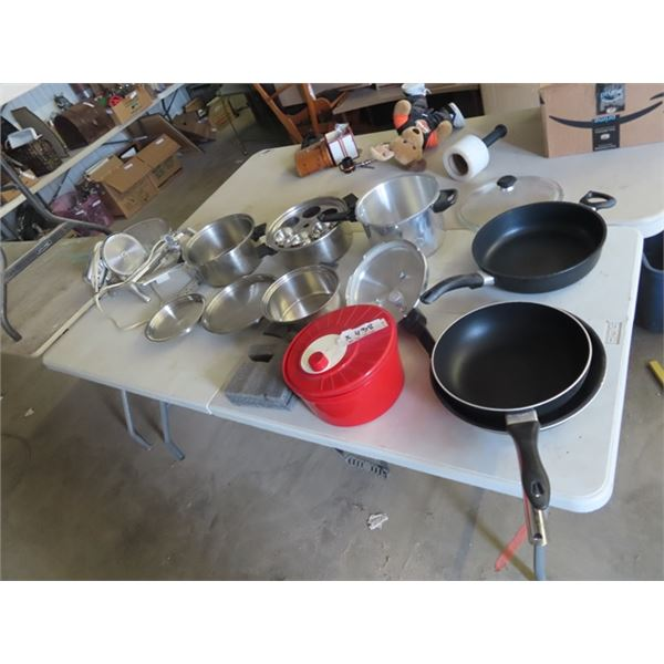 Pots & Pans, Meat Slicer, Pressure Cooker