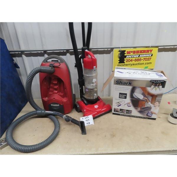 Dirt Devil Vaccum, Kemore Vacuum, Shark Steam Cleaner