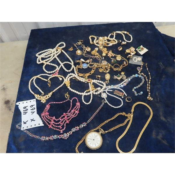 Jewellery Necklaces, Earrings, Ring, & Watch