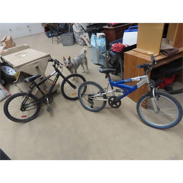 2 Pedal Bikes - 1) CCM Shock Wave 1) Street Trax