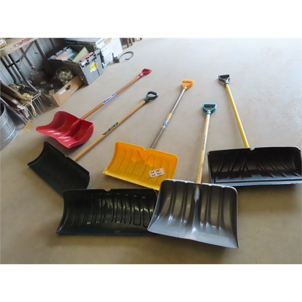 (WE) 5 Snow Shovels