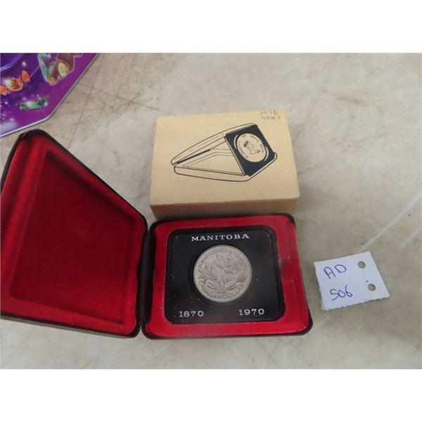 1970 Cdn Dollar Coin Set w Case