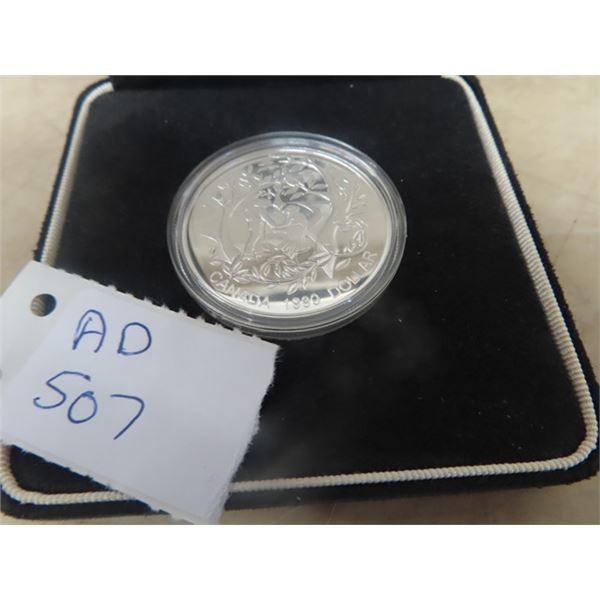 1999 Cdn Dollar Coin w Case