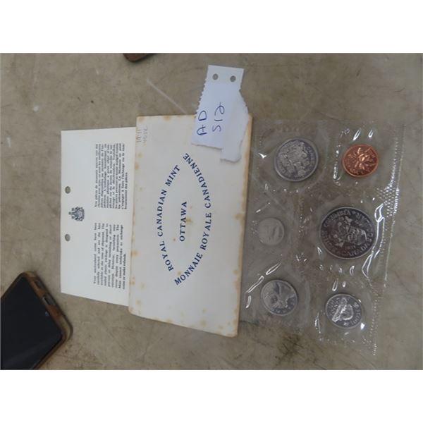 1971 Royal Cdn Mint Coin Set - Uncirculated