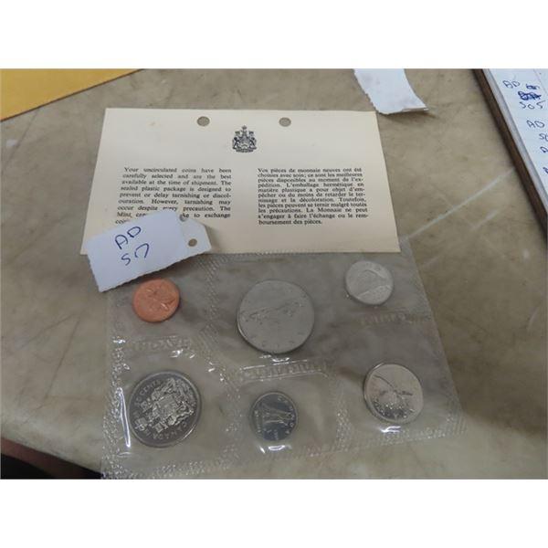 1968 Royal Cdn Mint Coin Set - Uncirculated