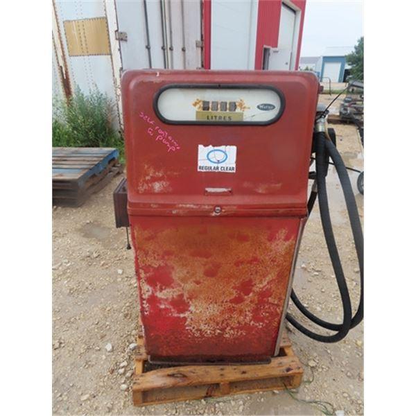 Wayne Mfl 410 2P7 Gas Pump w Key