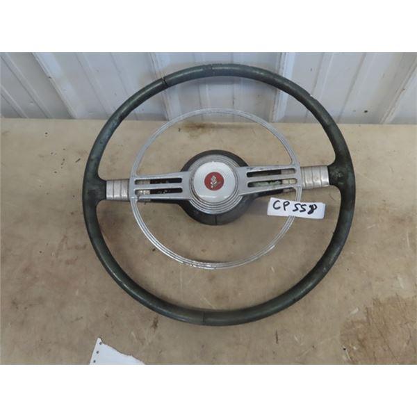 Old Pontiac Steering Wheel