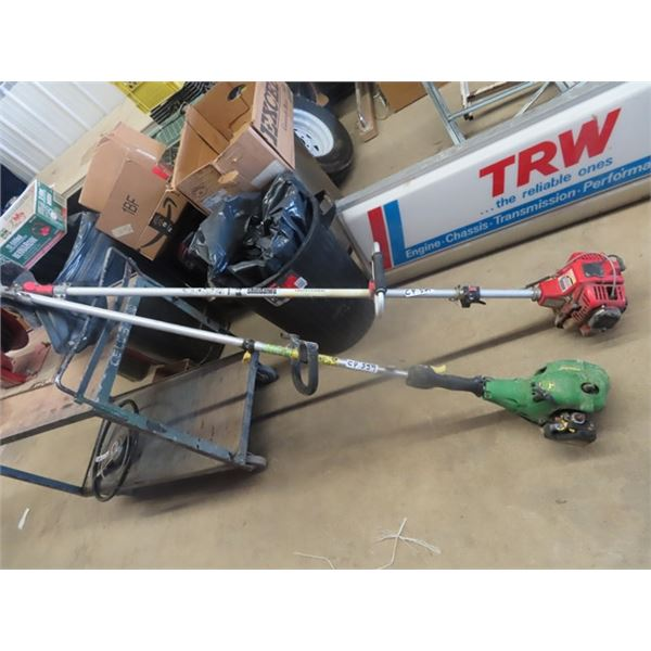 JD BC 1600 Weed Easter, Shindaiwa Weed Eater, Both Are Not Running