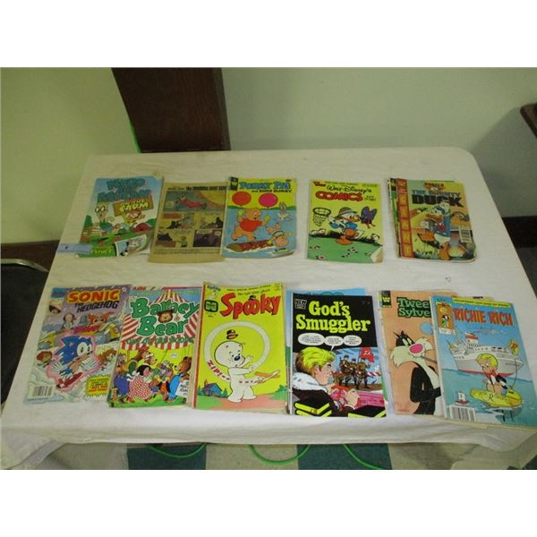 Lot of misc vintage comic books