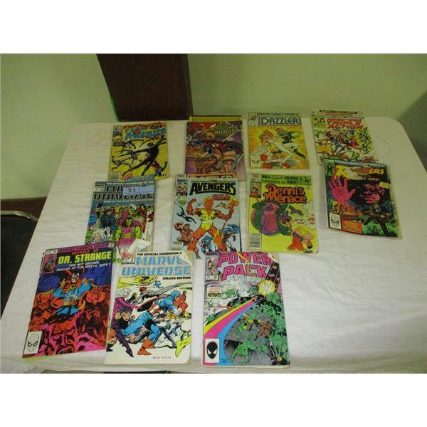 Stack of misc comics (Superhero)