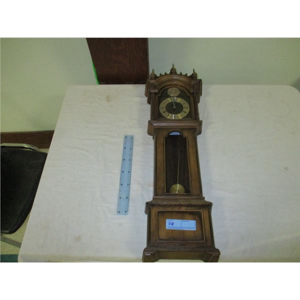 Mini plastic grandfather clock