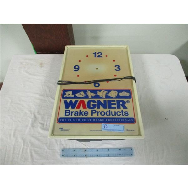 Wagner brake products clock