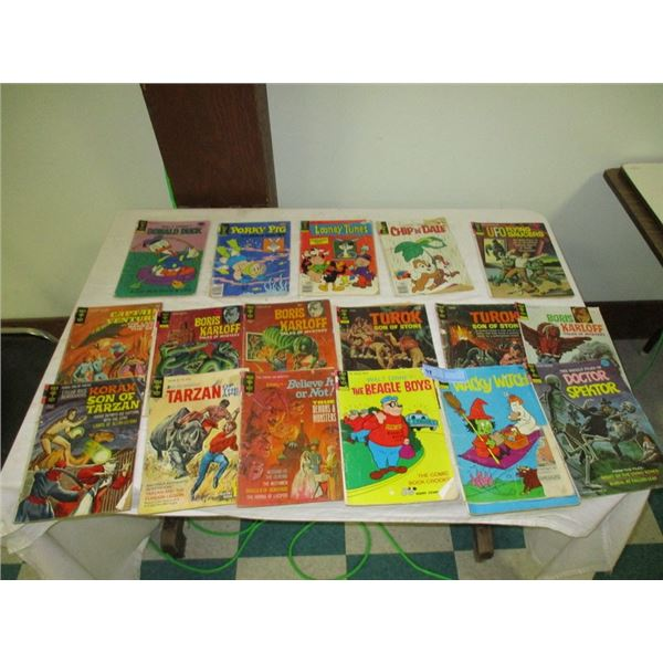 Lot of comics (mostly monster related)