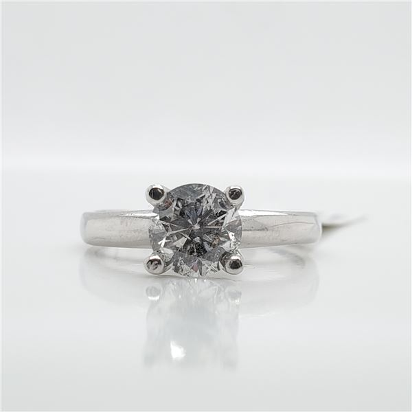 10K DIAMOND (0.90CT) RING SIZE 5.75