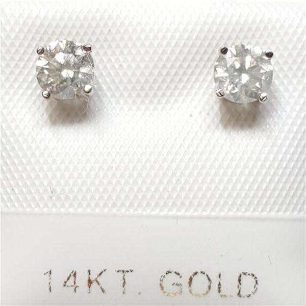 14K DIAMOND(0.54CT)  EARRINGS