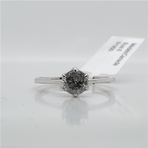 10K DIAMOND(0.6CT) RING SIZE 6