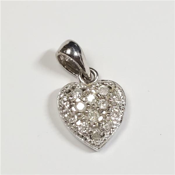 10K DIAMOND(0.26CT) PENDANT