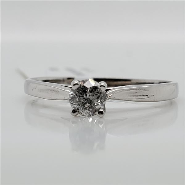 10K DIAMOND(0.19CT) RING SIZE 5.5