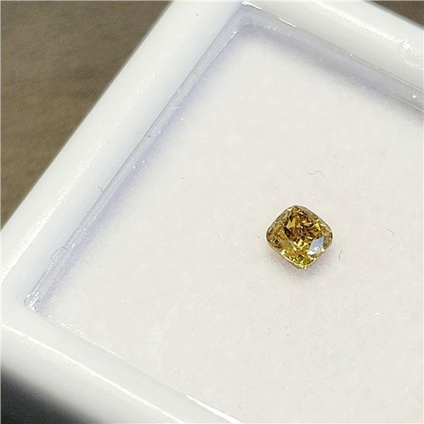 YELLOW DIAMOND(0.24CT)
