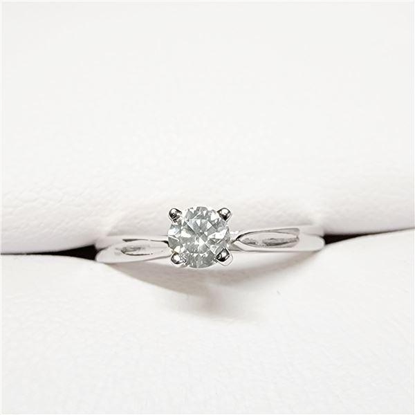 10K  DIAMOND(0.19CT) RING SIZE 6