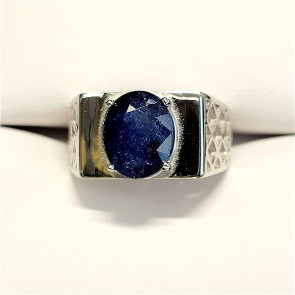 SILVER SAPPHIRE(4.75CT) RING