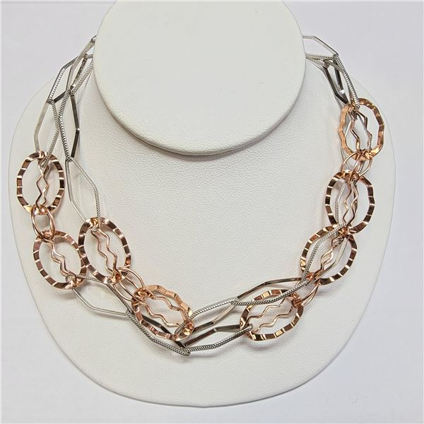 G.P SILVER NECKLACE