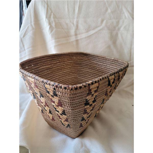 First Nations basket rectangular