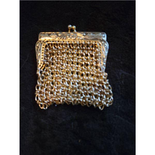 chain mail coin purse