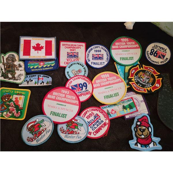 lot boy scout badges