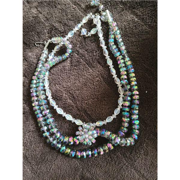 lot glass jewelry crystal
