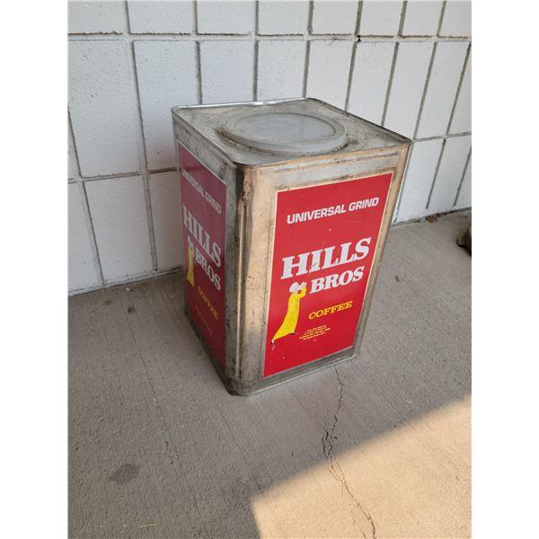 Mills Bros large vintage tin
