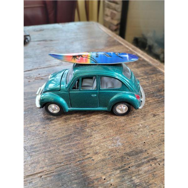 vw beetle hawaii surf board toy