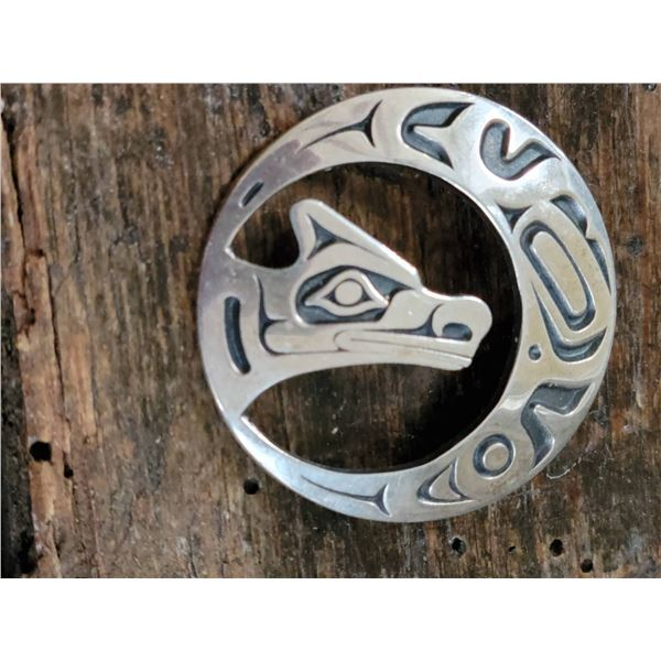 O Lonning Pendant Haida