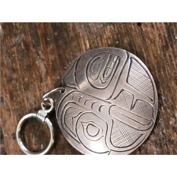 haida pendant heavy sterling chain