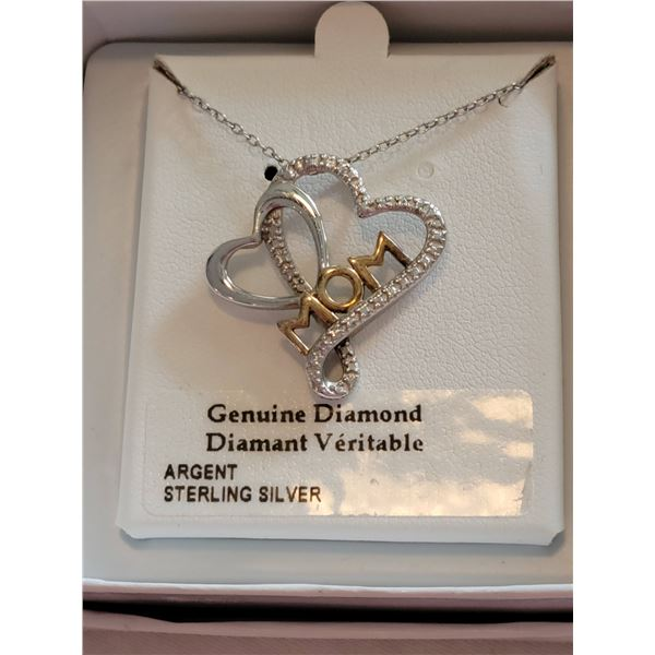 Sterling necklace MOM