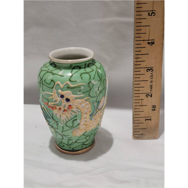 dragonware vase