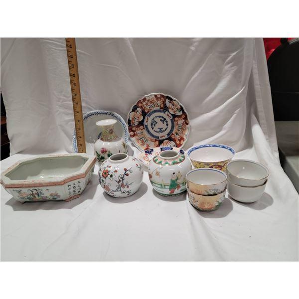 ceramic lot oriental