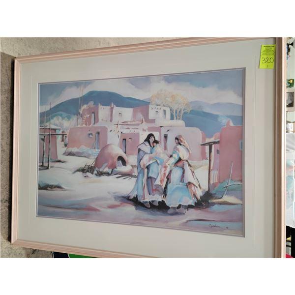 Betty Carlson framed