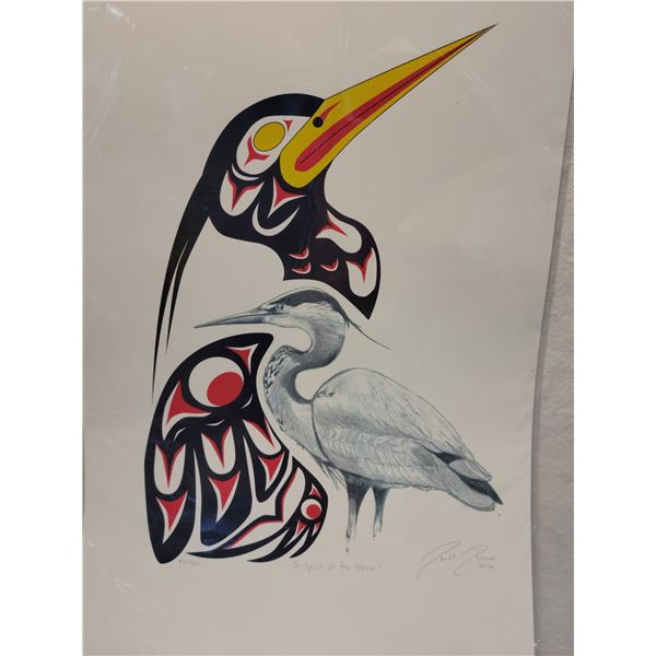 seriograph signed first nation