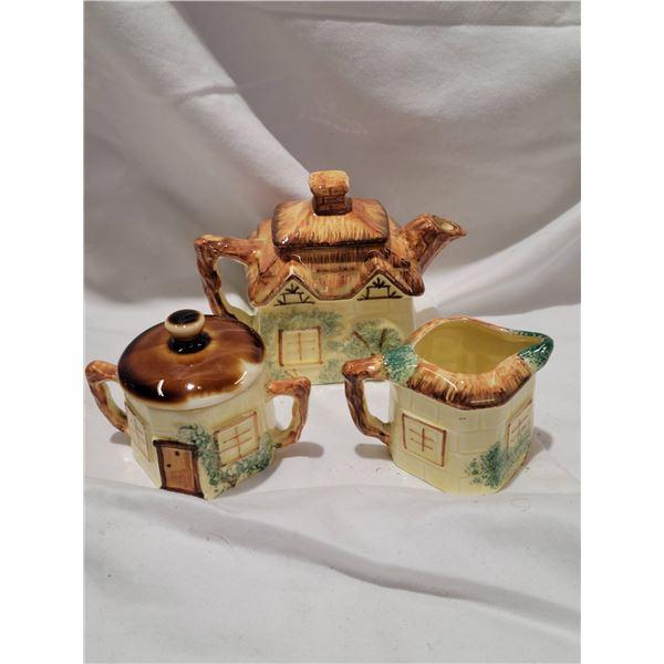 1950s Neal Street Pottery childs tea set