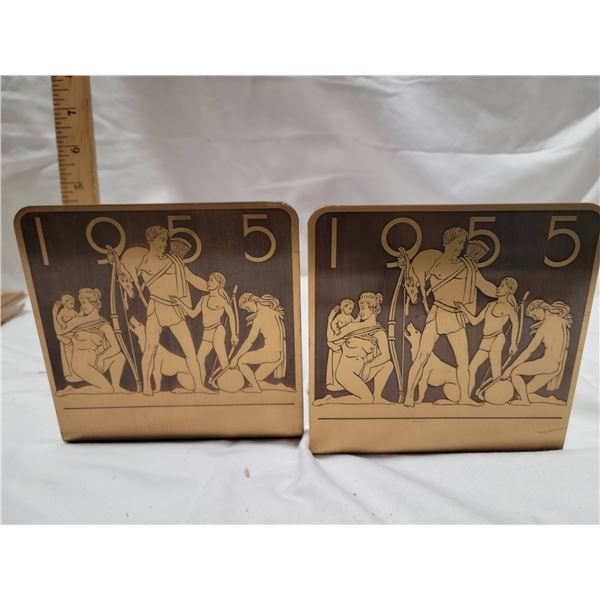 1955 Olympic bookends