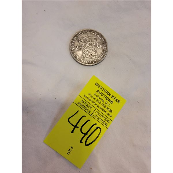 2.5 sterling coin