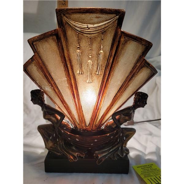art nouveau lamp for repair repair