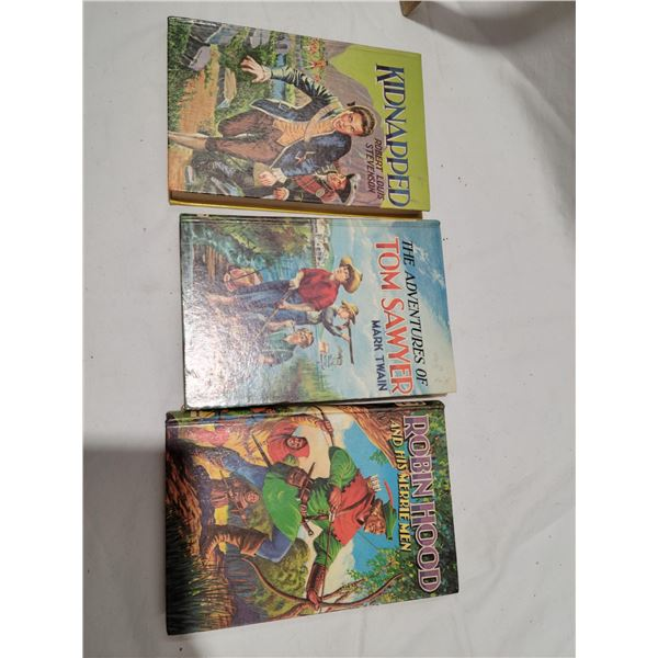 lot 3 vintage books