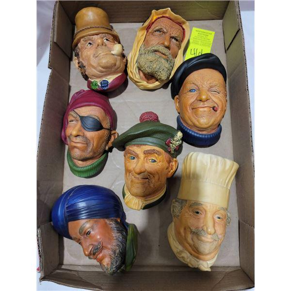 Bossons head lot