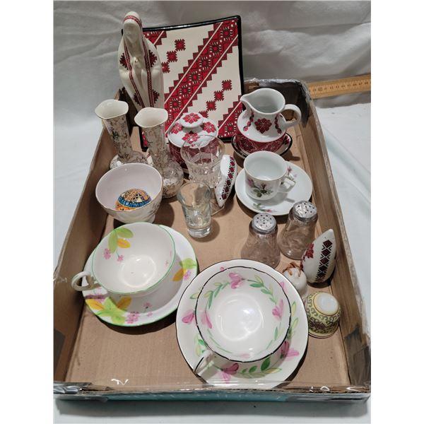assorted  ceramic Ukrainian