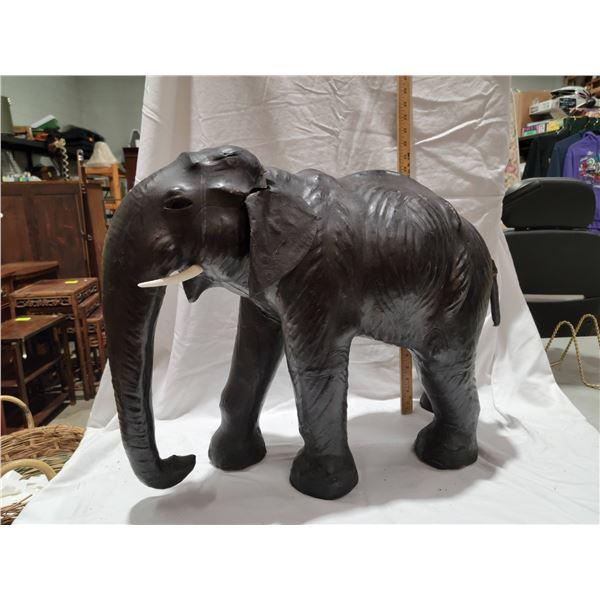 """leather elephant 22"""""""